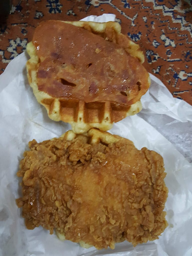 KFC Zinger Waffle tak seperti yang disangka