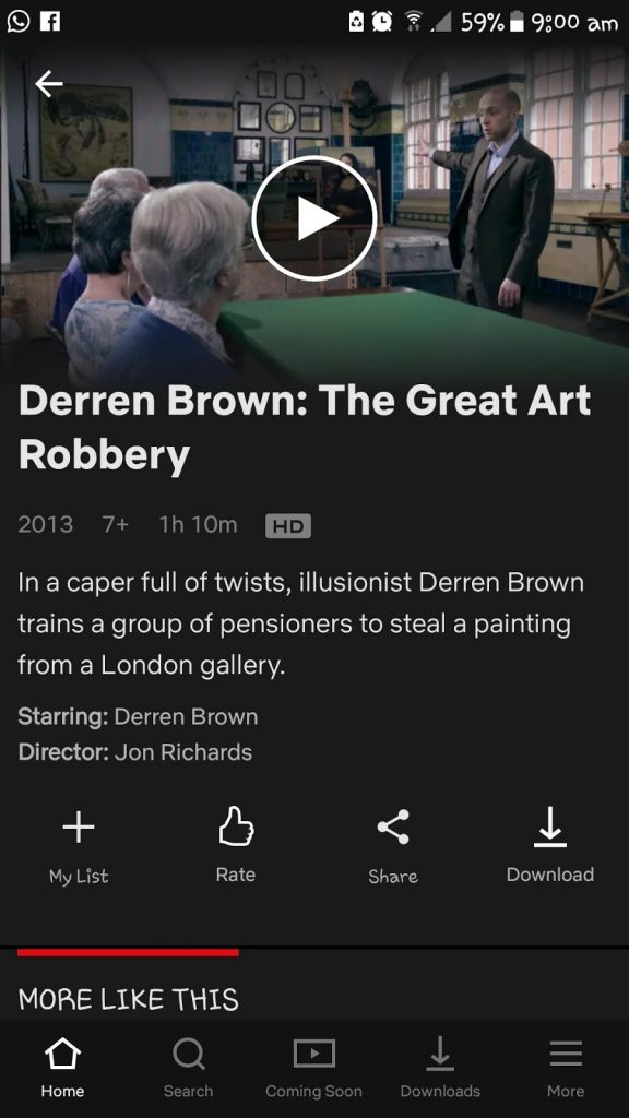 Review Derren Brown : The Great Robbery