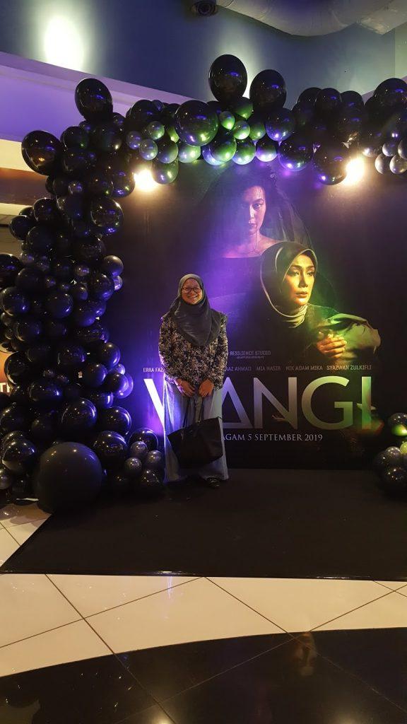 Sekitar pelancaran Filem WANGI Lakonan Erra Fazira dan Sharnaaz Ahmad