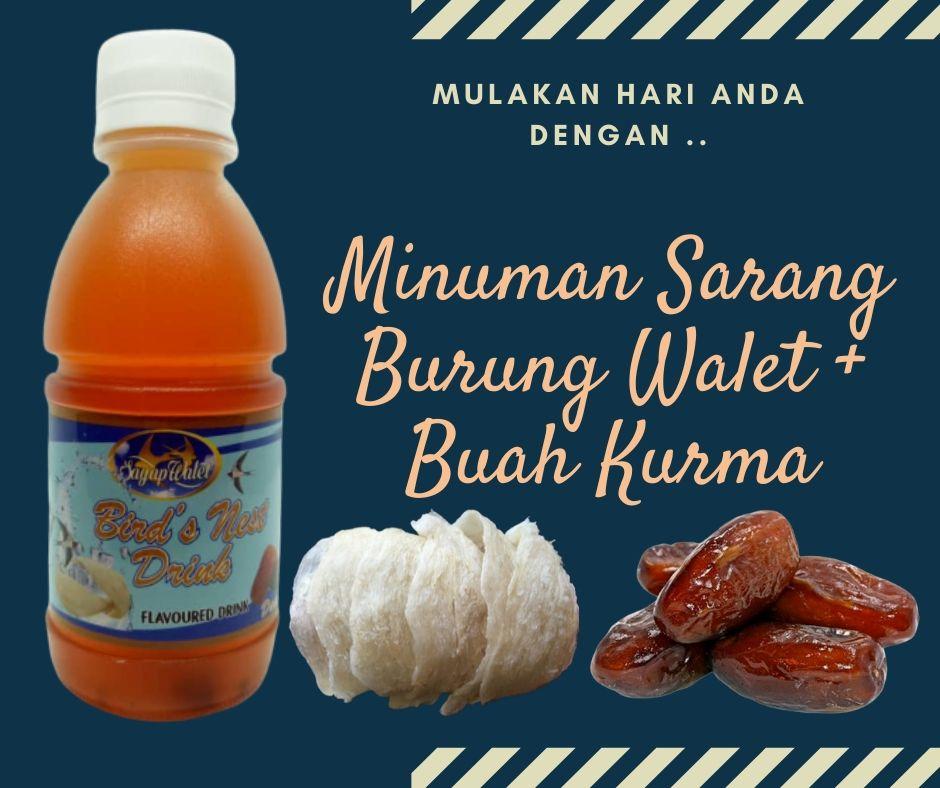 Minuman Sarang Burung Sayap Walet PeDAS