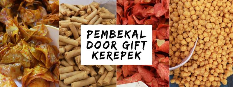 Pembekal Door Gift Kerepek