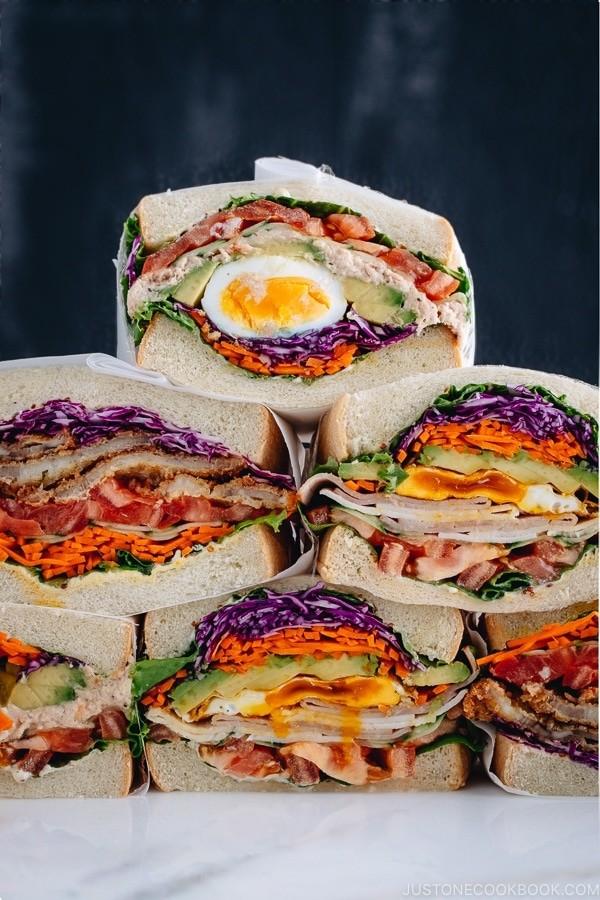 Resepi Sandwich Wanpaku Rendah Kalori usahawan PeDAS