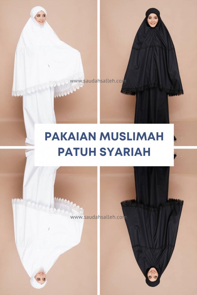 Pakaian Muslimah Patuh Syariah