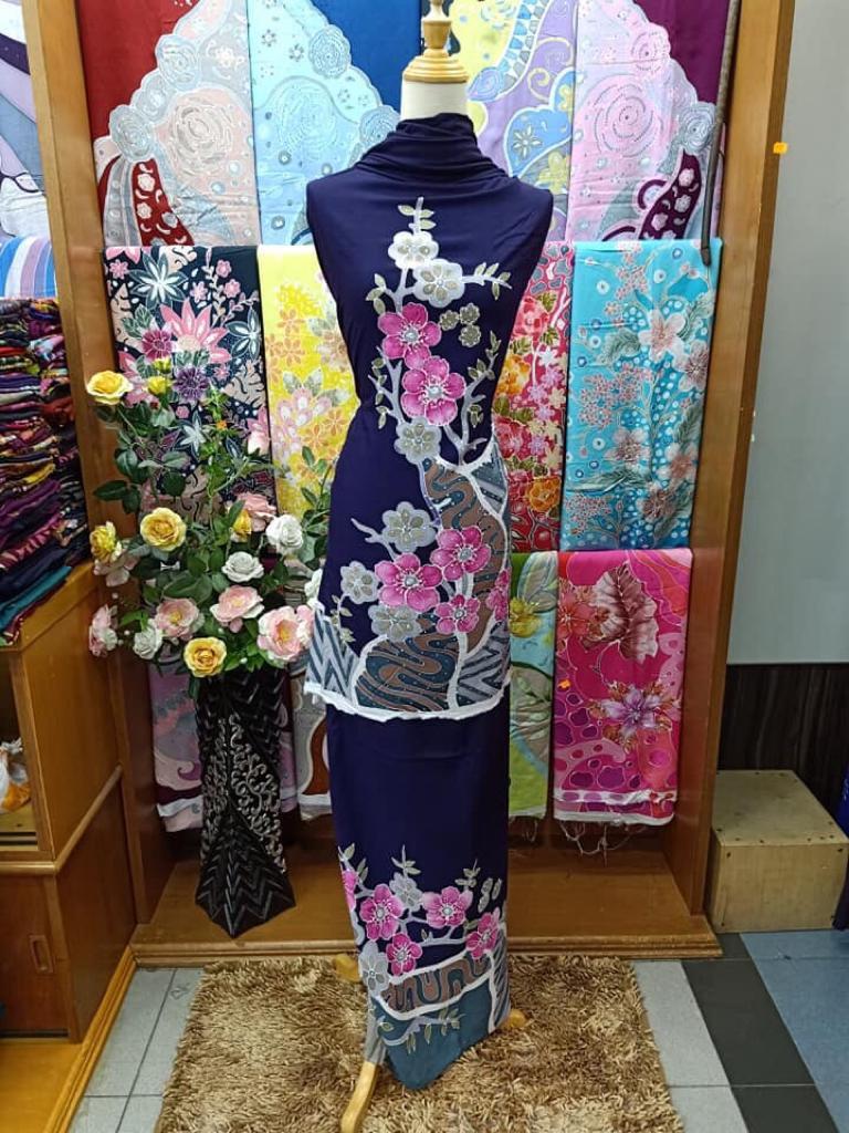 Kain Pasang Batik Zieyra Design Usahawan PeDAS
